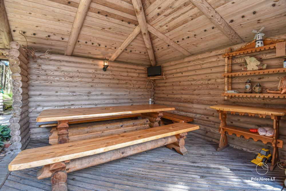 Holiday houses for rent in Palanga, in pine forest, near the sea - 6