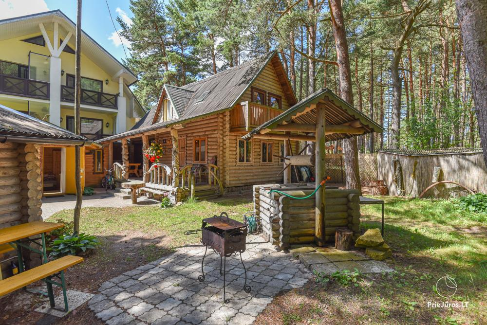 Holiday houses for rent in Palanga, in pine forest, near the sea - 1