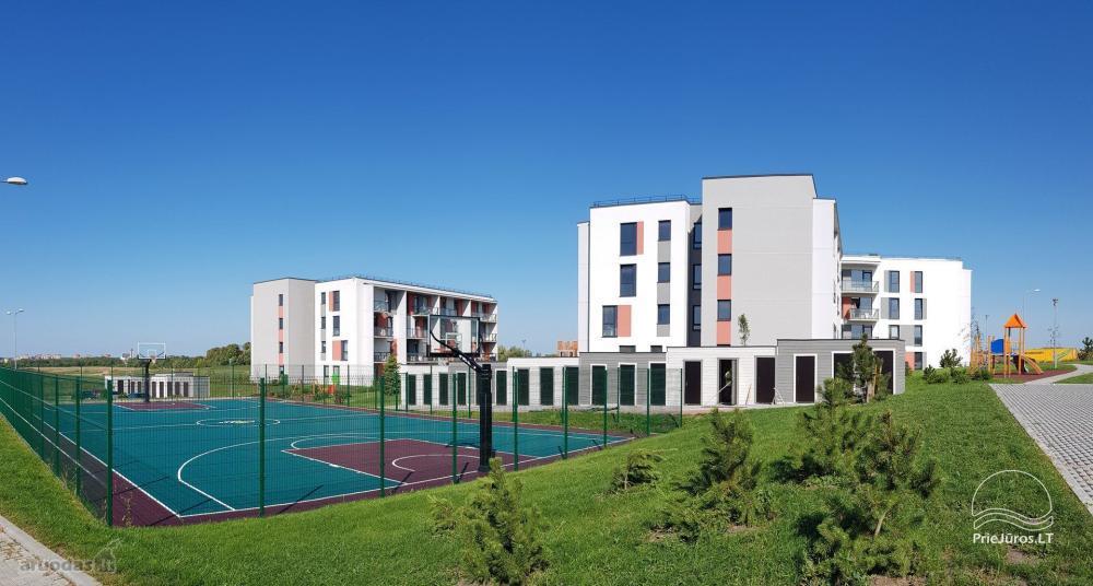 Saulės apartment - naujai 2019 m. pastatyti ir įrenti apartamentai su nuosavu sporto aikštynu - 5