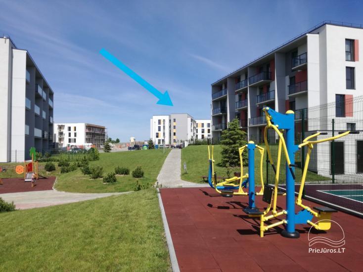 Saulės apartment - naujai 2019 m. pastatyti ir įrenti apartamentai su nuosavu sporto aikštynu - 2