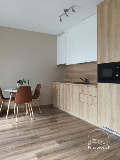 Saulės apartment - naujai 2019 m. pastatyti ir įrenti apartamentai su nuosavu sporto aikštynu - 6