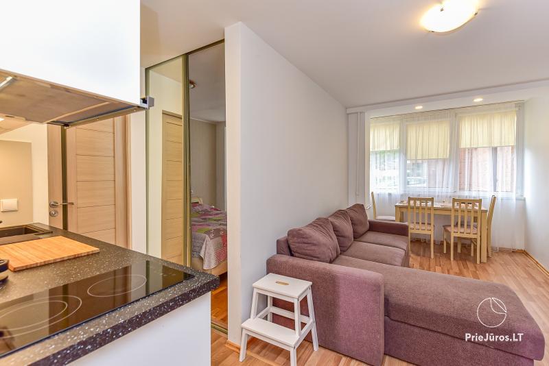 Jaukūs, šviesūs apartamentai 2-4 asmenims Vilija Nidos centre