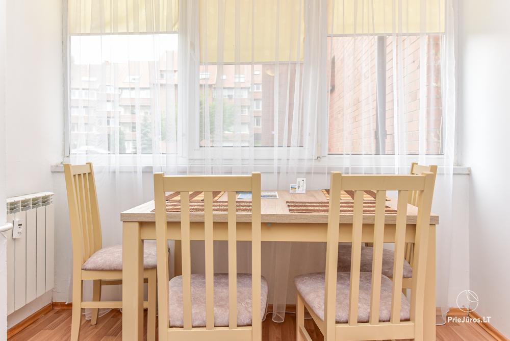 Jaukūs, šviesūs apartamentai 2-4 asmenims Vilija Nidos centre - 7