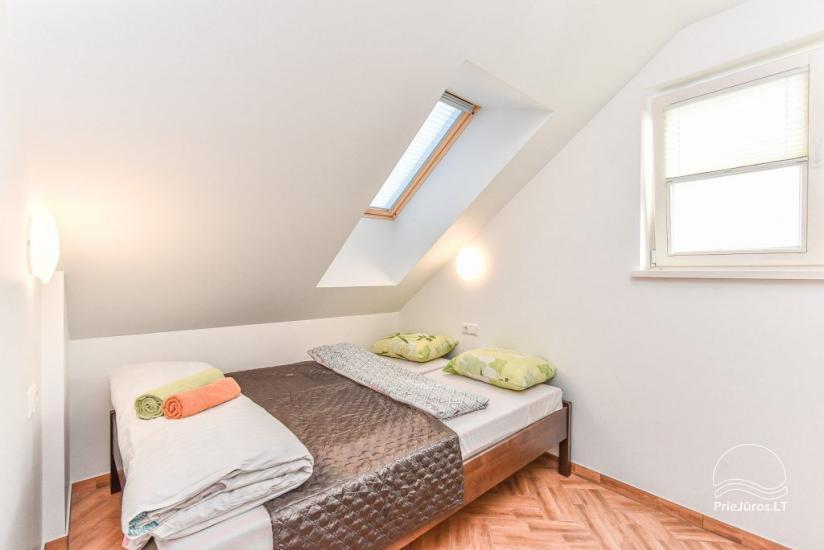Two-room apartment on the second floor
