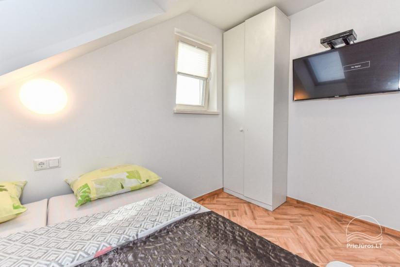 Dviejų kambarių apartamentai antrame aukšte