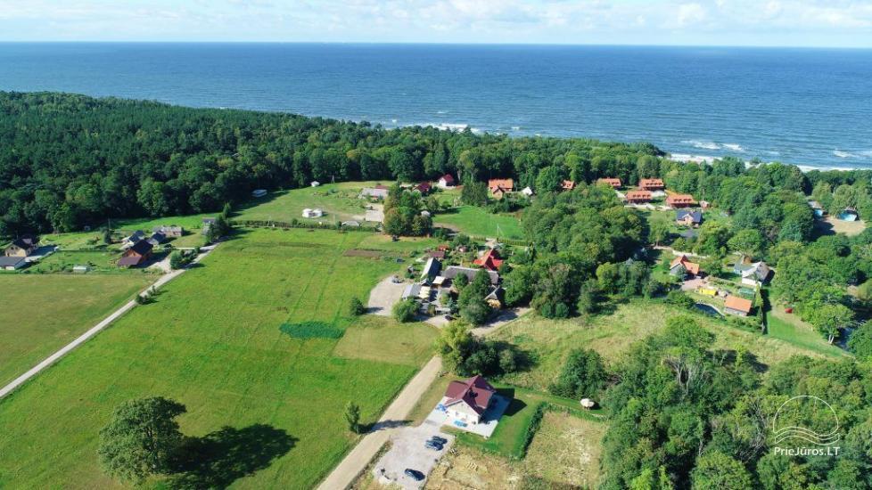 Ferienwohnungs in Karkle Senoji Karklė – 300 m zum Meer - 15