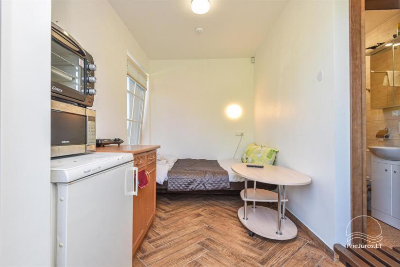 """Apartamentai Karklėje """"Senoji Karklė"""" – 300 m iki jūros. Vienam - 17€!, Dviems - 20€. Kubilas - 36"""
