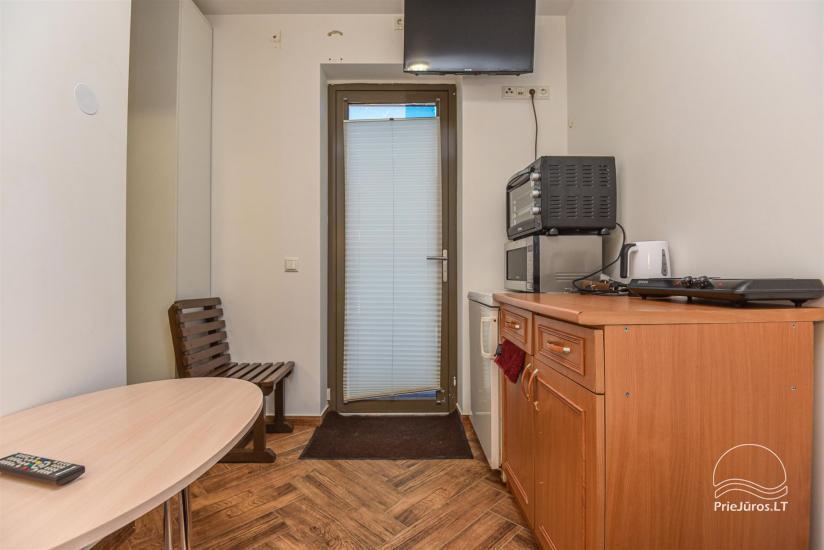 """Apartamentai Karklėje """"Senoji Karklė"""" – 300 m iki jūros. Vienam - 17€!, Dviems - 20€. Kubilas - 37"""
