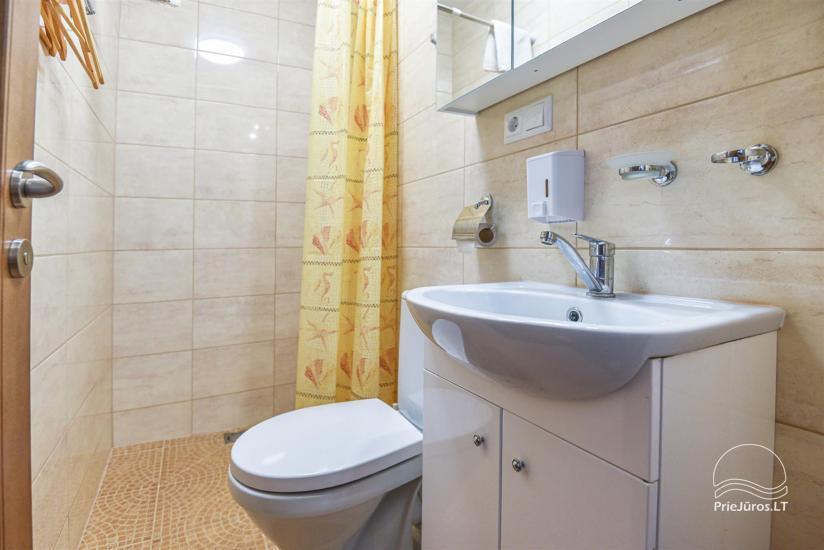 """Apartamentai Karklėje """"Senoji Karklė"""" – 300 m iki jūros. Vienam - 17€!, Dviems - 20€. Kubilas - 38"""
