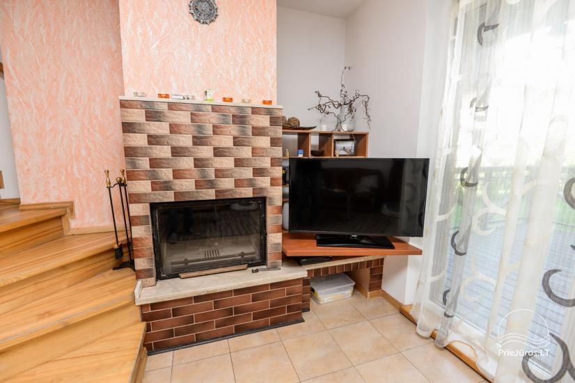 Cottage up to 9 persons for rent in Sventoji. Terrace, patio, parking, WiFi - 3