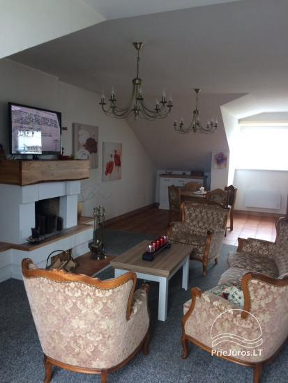 Spacious flat with fireplace for rent in Palanga - 1