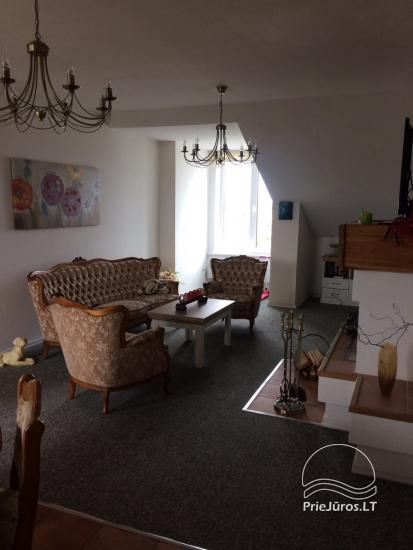 Spacious flat with fireplace for rent in Palanga - 4