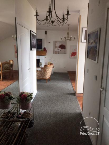Erdvus, jaukus butas su židiniu nuomai Palangoje - 6