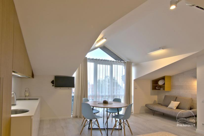 Modern 1-room apartment in the center of Nida with air conditioning and parking - 3