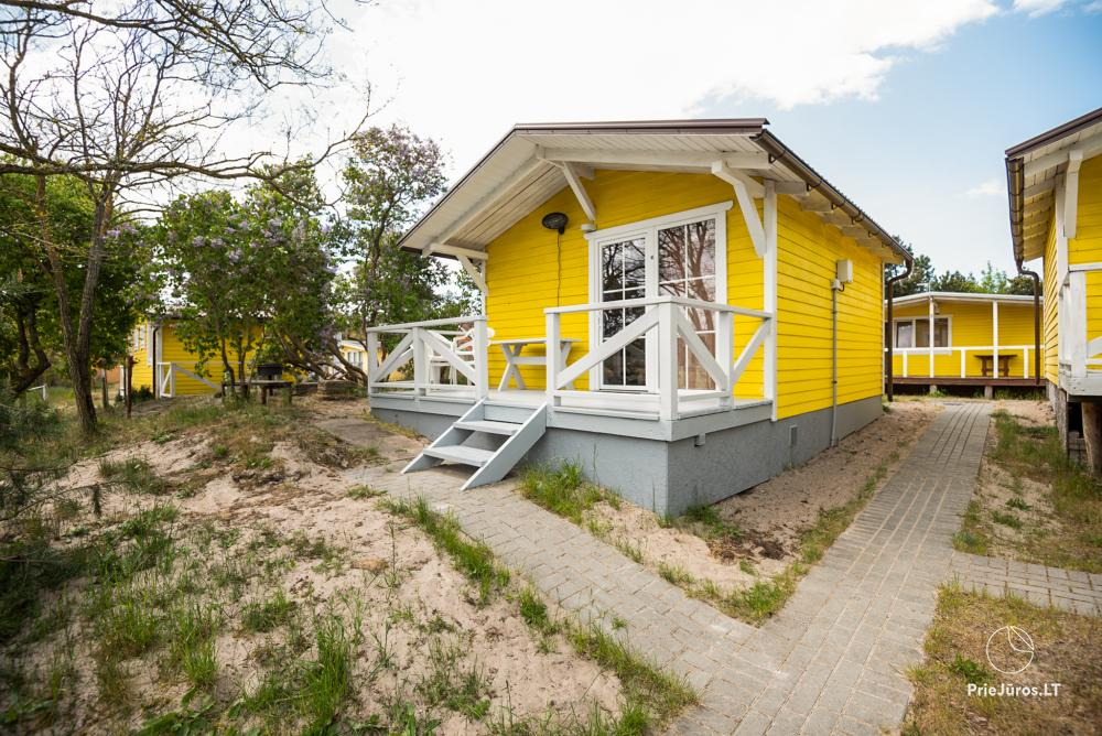 Holiday cottages Oaze in Sventoji on the shore of the sea - 1