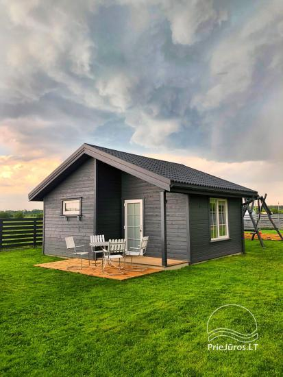 Holiday houses for rent in Sventoji - Grey holiday house | Opened in 2019! - 7