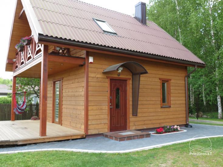 Medinis šeimos namelis - Mini Vila - Palangoje - 2