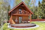 Wooden holiday house - mini villa in Palanga