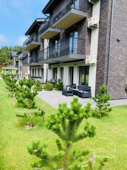 Mājīgs dzīvoklis ar terasi Palangā - 1