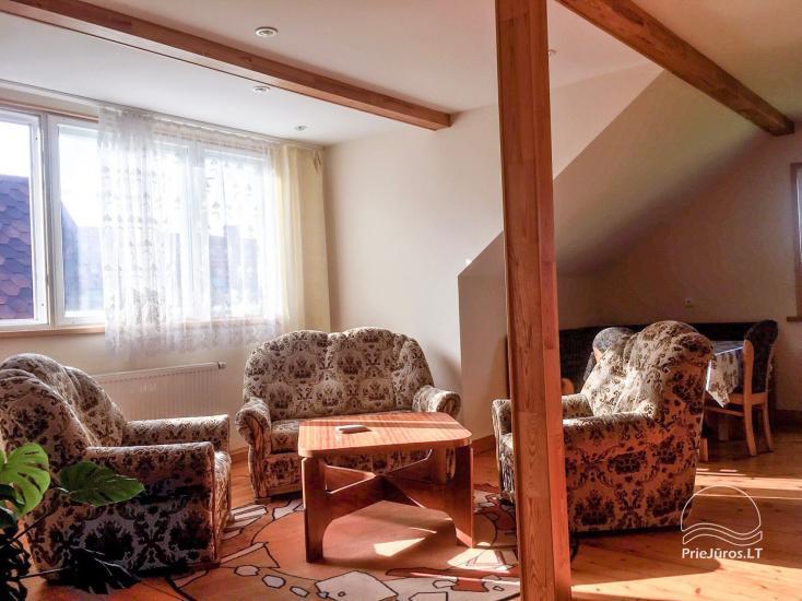 Camelija in Palanga - 4 Wohnungen zur Miete in guter Lage, in der Nähe des Meeres - 5