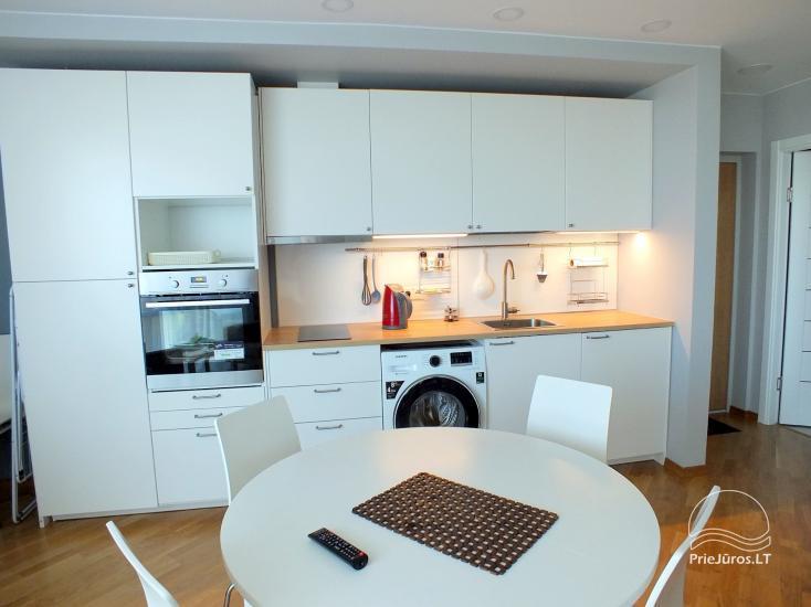 Gemütliche und moderne Wohnung in Šventoji, im Komplex Elijas