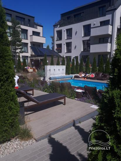 Jauns dzīvoklis ar baseinu Palangas centrā - 10