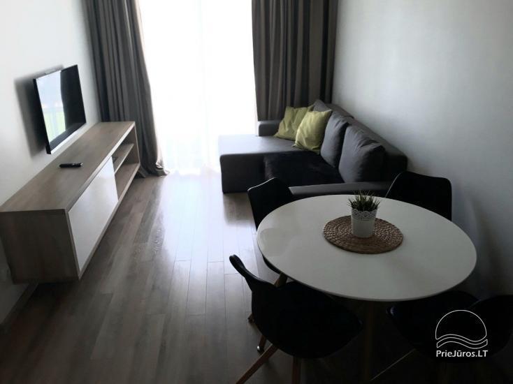 Jauns dzīvoklis ar baseinu Palangas centrā - 2