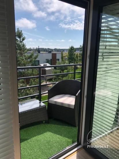 Jaukus, naujai įrengtas butas su balkonu nuomai Palangoje, Kunigiškėse - 3