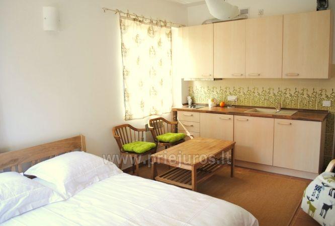 Vieno kambario apartamentai Pervalkoje:pirmas aukštas, yra kiemelis - 4