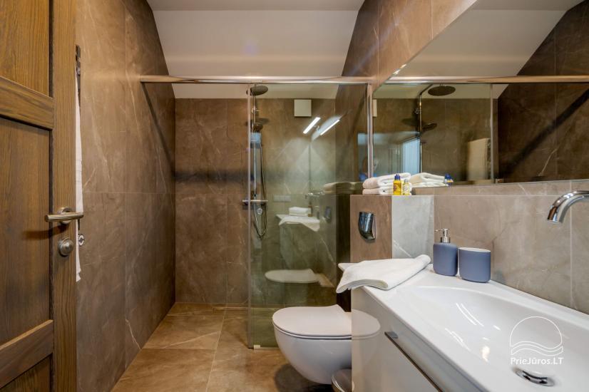 "2019 m. įrengto kotedžo nuoma Palangoje ""Vanagupes Luxury Cottages"" - 10"
