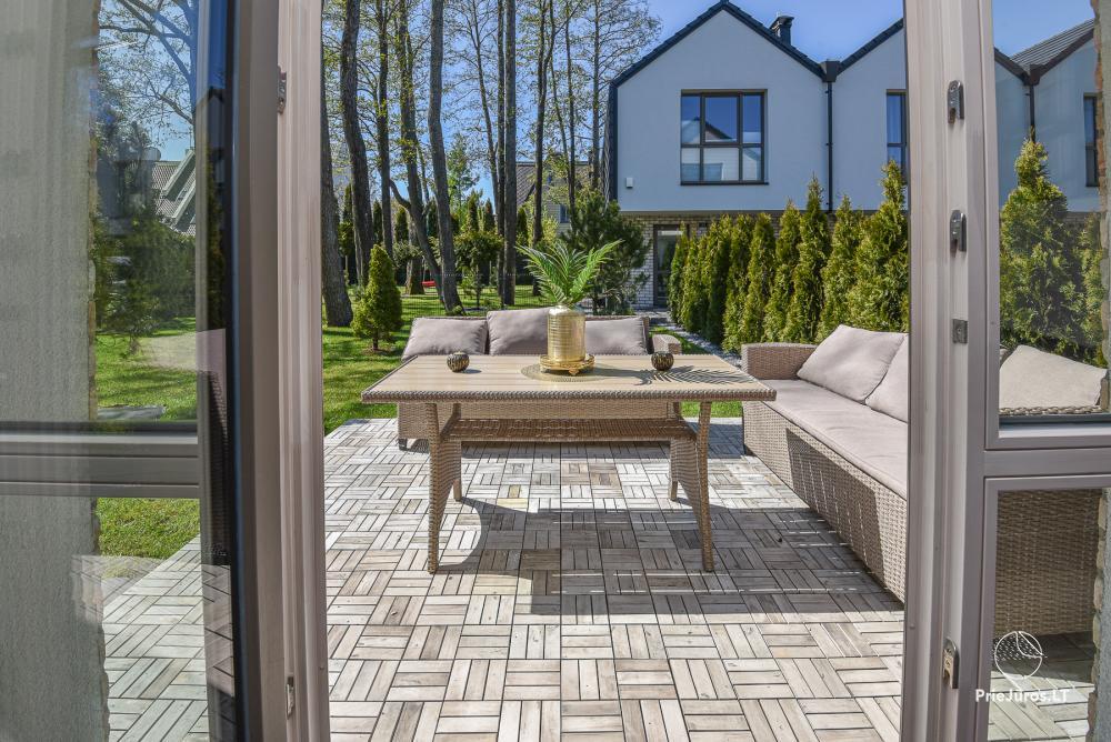Jauna luksusa māja Palangā Vanagupes Luxury Cottages - 15