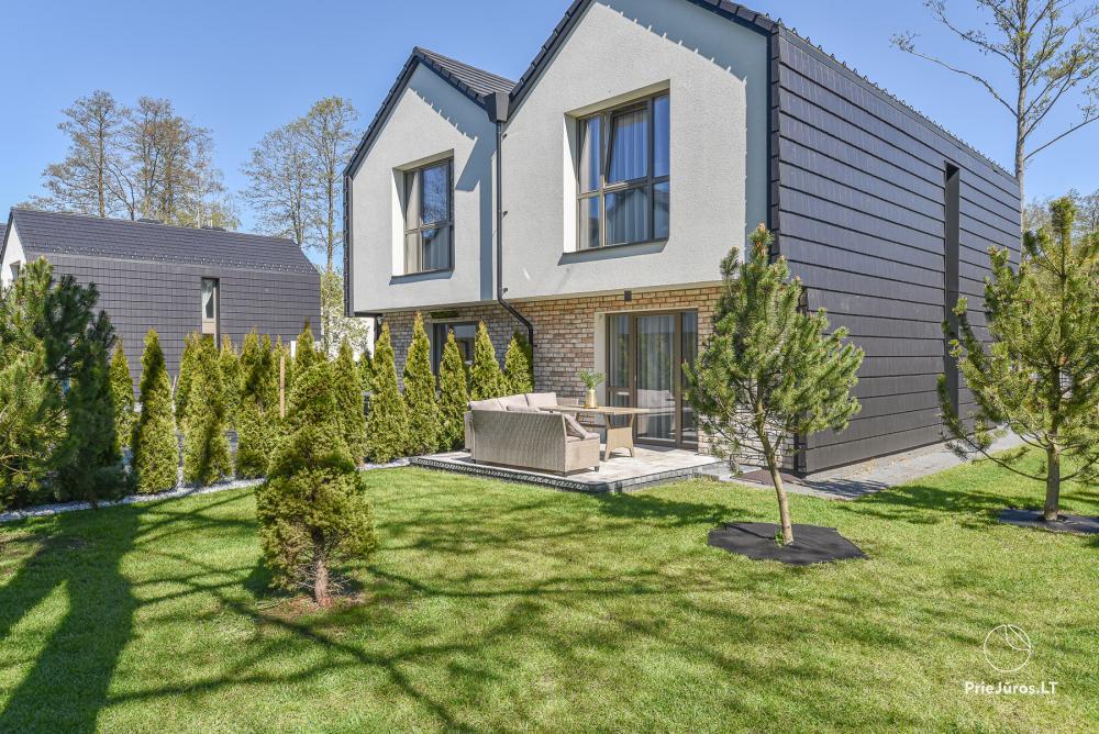 Jauna luksusa māja Palangā Vanagupes Luxury Cottages - 17