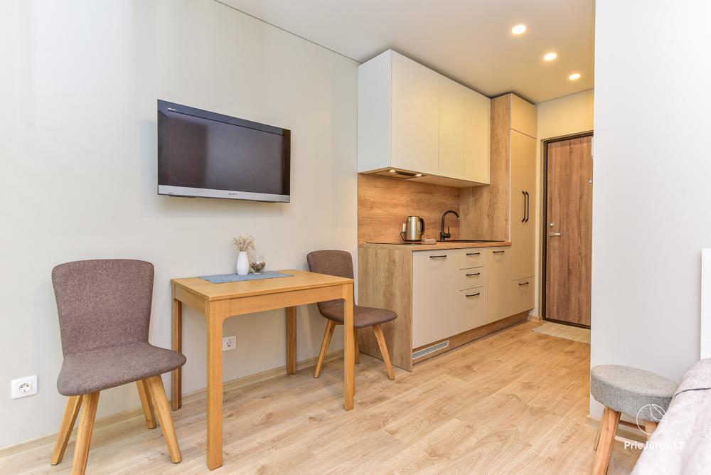 Studio-Apartment zu vermieten in Juodkrante, in der Kurischen Nehrung in der Nähe der Ostsee - 5