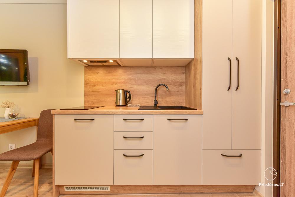 Studio-Apartment zu vermieten in Juodkrante, in der Kurischen Nehrung in der Nähe der Ostsee - 4