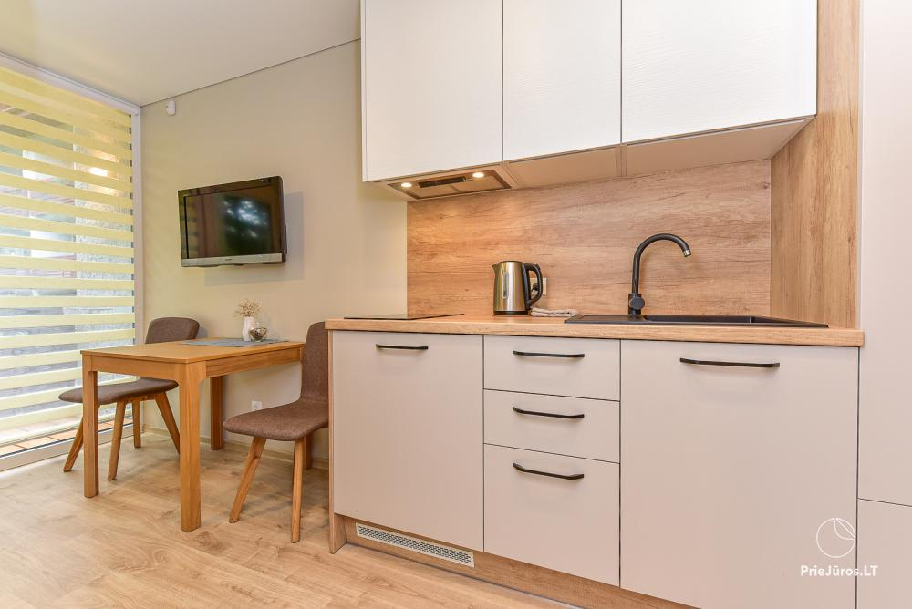Studio-Apartment zu vermieten in Juodkrante, in der Kurischen Nehrung in der Nähe der Ostsee - 3
