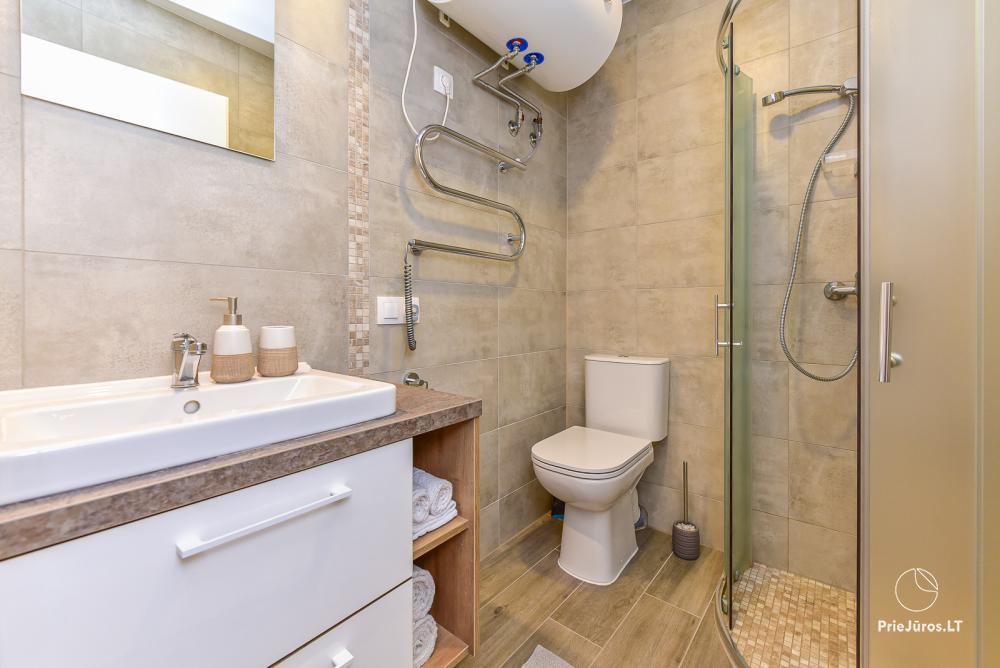Studio-Apartment zu vermieten in Juodkrante, in der Kurischen Nehrung in der Nähe der Ostsee - 12