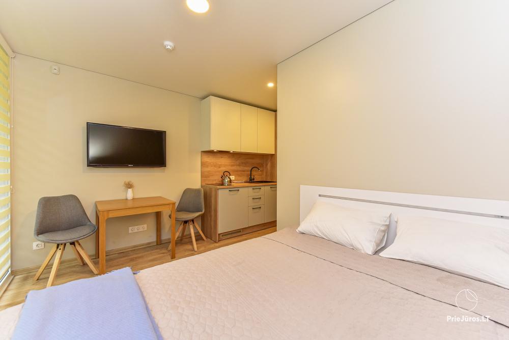 Studio-Apartment zu vermieten in Juodkrante, in der Kurischen Nehrung in der Nähe der Ostsee - 9