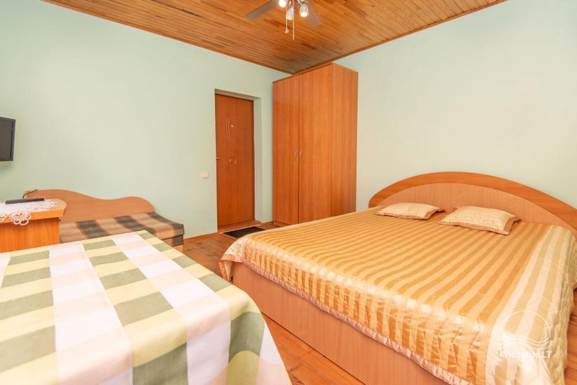 Spacious, cosy and neat rooms with all amenities for rent in Palanga, in private house - 11
