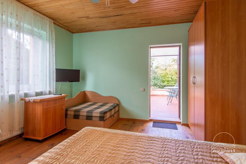 Erdvūs, jaukūs ir tvarkingi kambariai su visais patogumais nuomai Palangoje, privačiame name - 13