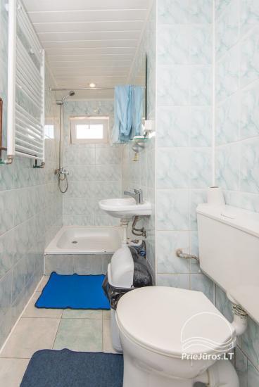 Erdvūs, jaukūs ir tvarkingi kambariai su visais patogumais nuomai Palangoje, privačiame name - 23