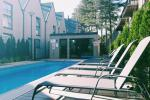 "Apartment ""Apartment In The Forest"" with heated pool. To the sea just 600 meters!"