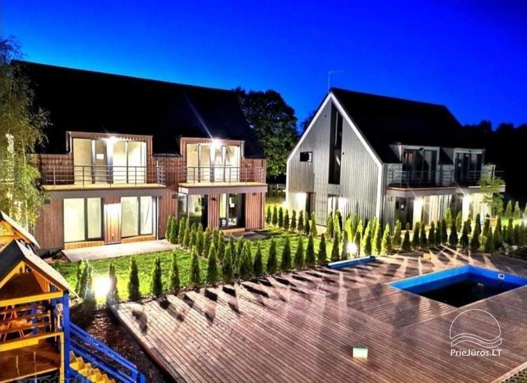 Vaivorykstes namai - apartment with terrace and pool - 1