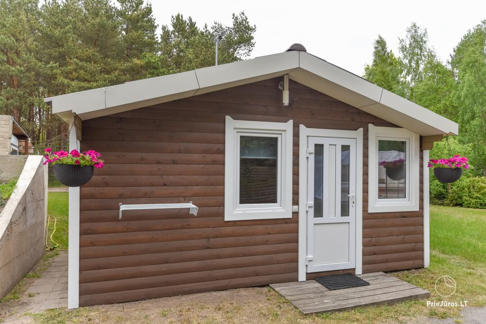 Holiday houses for rent in Sventoji. There is possibility to rent bath and tub - 1
