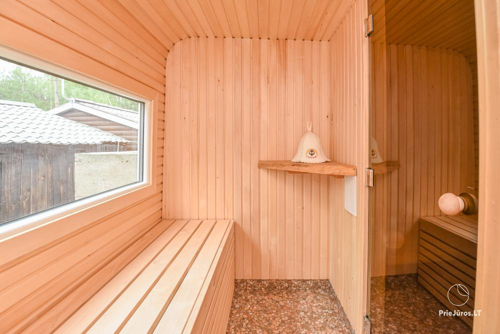 Holiday houses for rent in Sventoji. There is possibility to rent bath and tub - 7