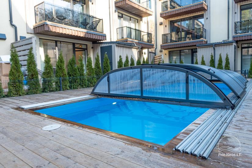 Ciki Puiki flats with heated outdoor swimming pool in Palanga, Kunigiskiai - 2