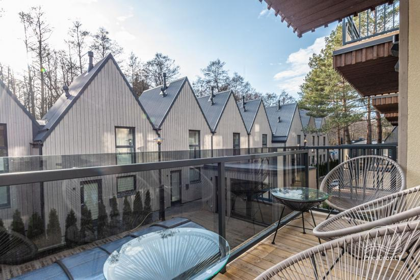 Ciki Puiki flats with heated outdoor swimming pool in Palanga, Kunigiskiai - 3