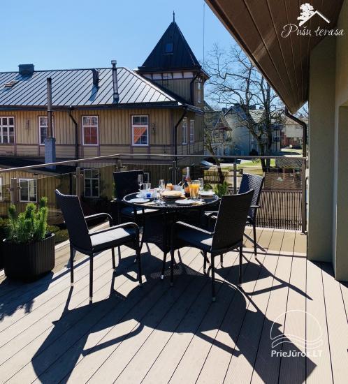 Apartment Pusu terasa in Juodkrante - 18