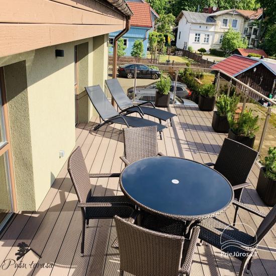 Apartment Pusu terasa in Juodkrante - 14