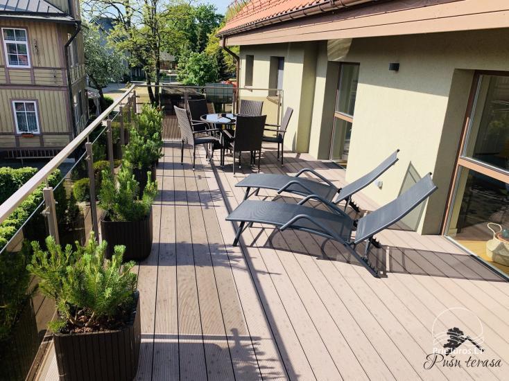 Apartment Pusu terasa in Juodkrante - 2