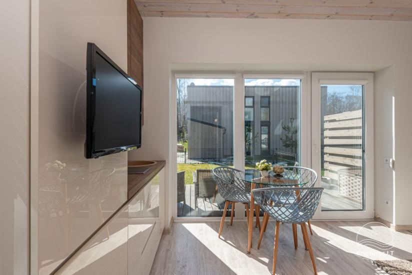 Ferienhaus - Wohnung mit Terrasse zur Miete in Palanga, in Kunigiskiai - 5